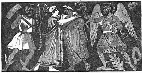 EB1911 Ceramics Fig. 35.—Etruscan Amphora imitating Greek style; parting scene of Alcestis and Admetus.jpg