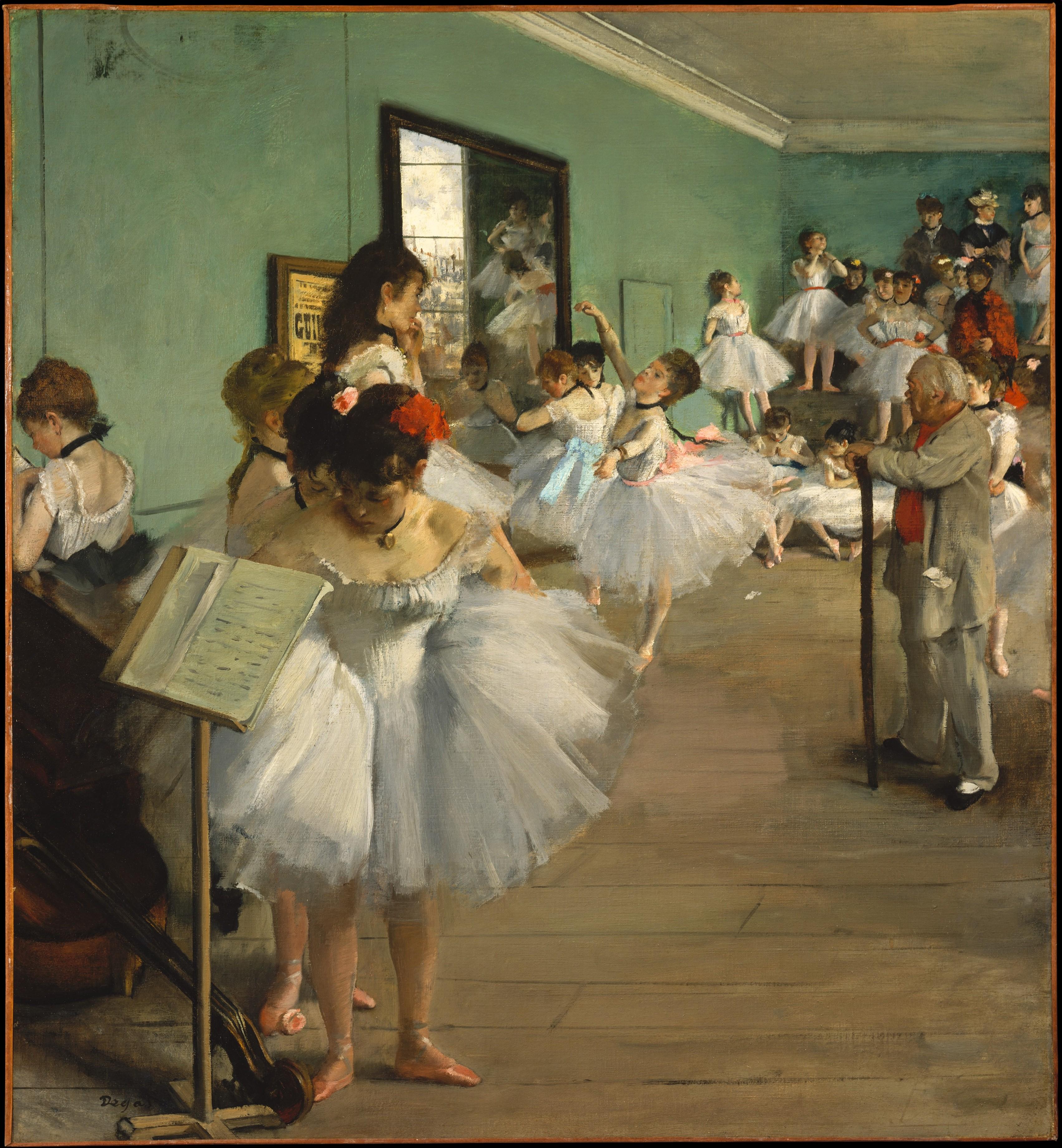 File:Edgar Degas The Dance Class.jpg - Wikimedia Commons