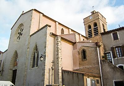 Église Saint-Pierre de Poussan (Hérault).