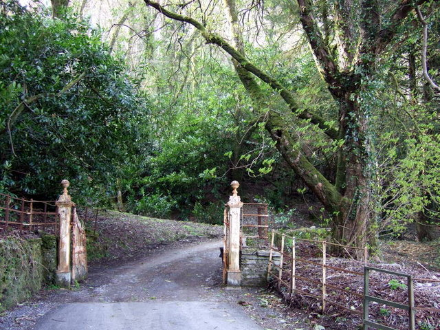 Entrance to Plas Geler - geograph.org.uk - 768087
