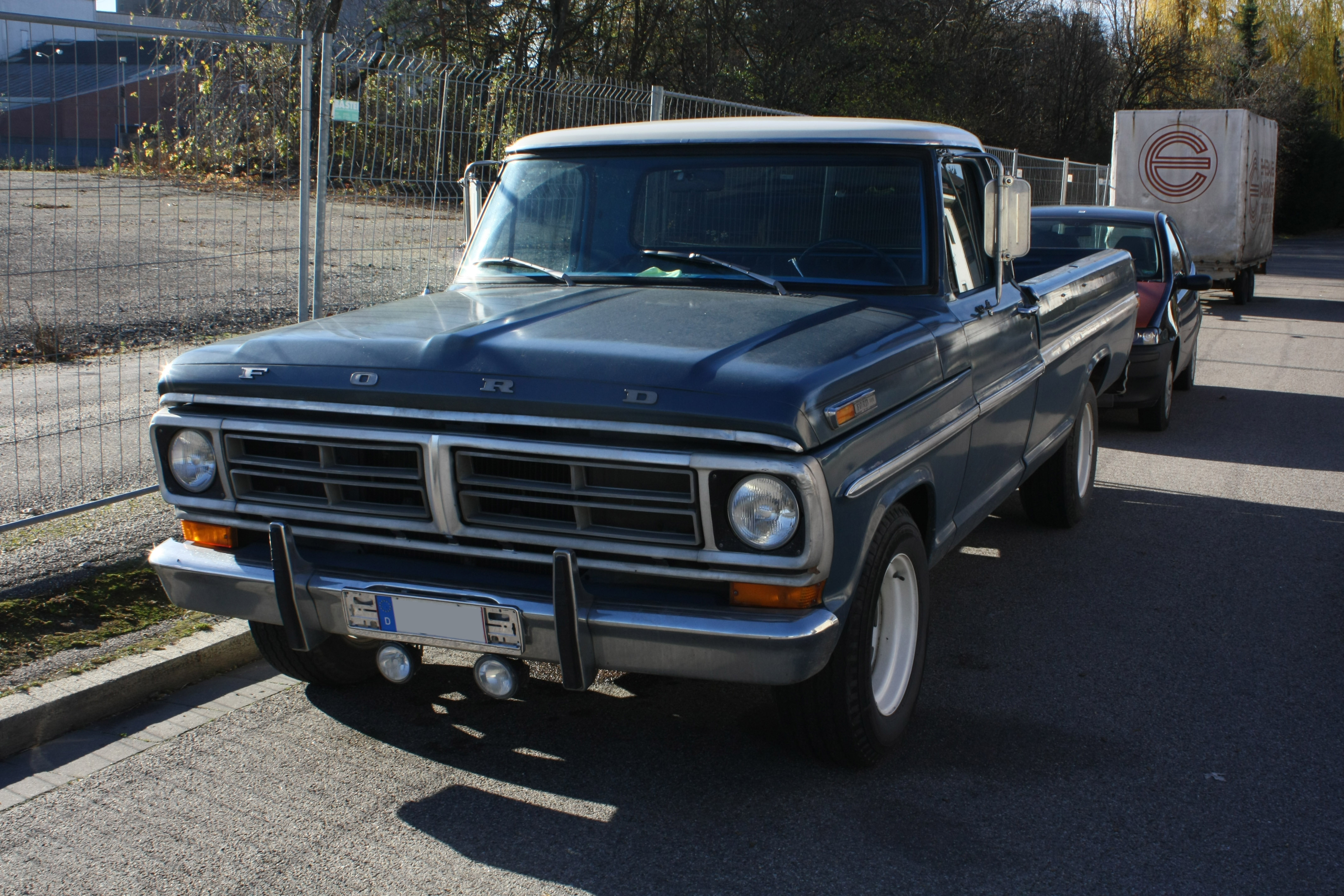 Ford Short Bed Truck