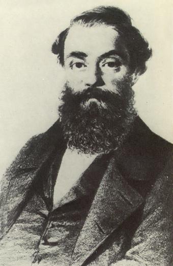 Francesco Maria Piave fue libretista de Verdi en obras como Rigoletto y La traviata