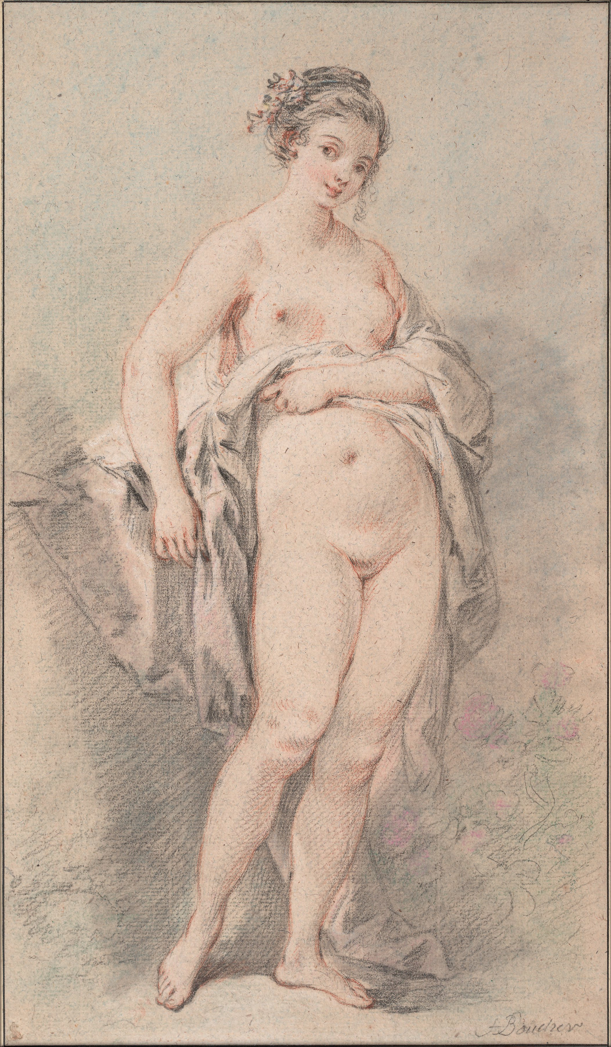Francois Boucher   Standing Nude Girl   Google Art Project On Radio, Mayor Signs Taxi Sex Trafficking Bill