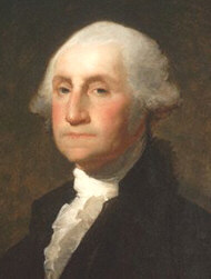 George Washington, the first president of the United States of America.