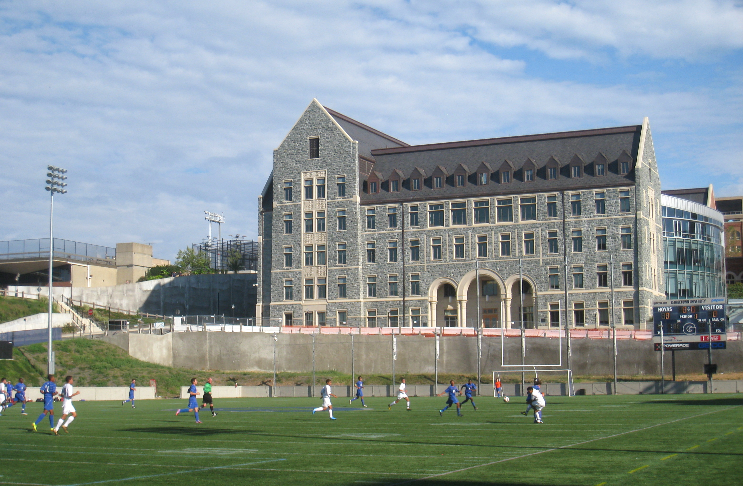 Georgetown University Self Guided Walking Tour