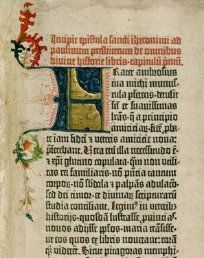 A page from the Gutenberg Bible Gutenberg Bible scan.jpg