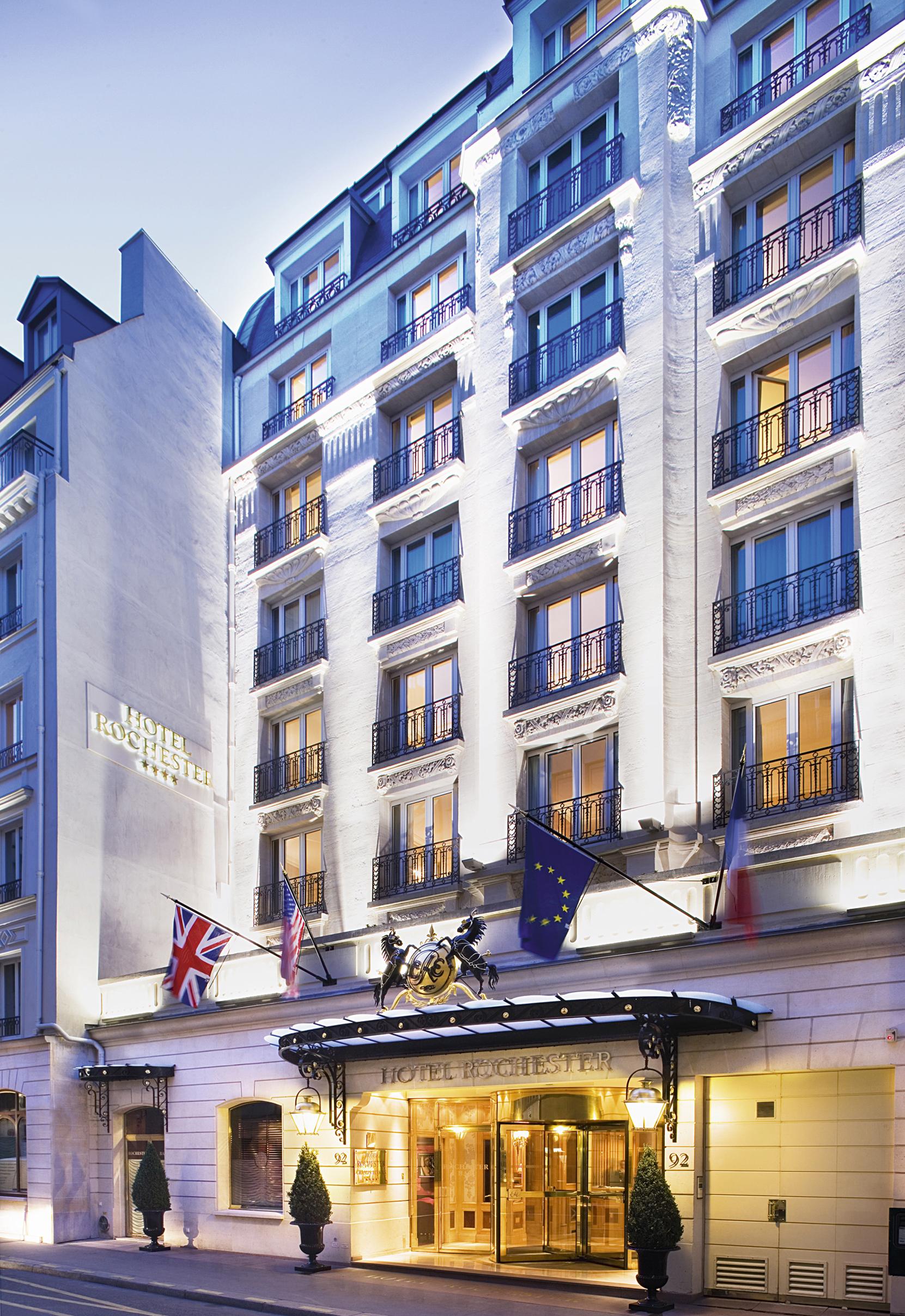 File:Hôtel Rochester Champs-Élysées, Exterior View.jpg
