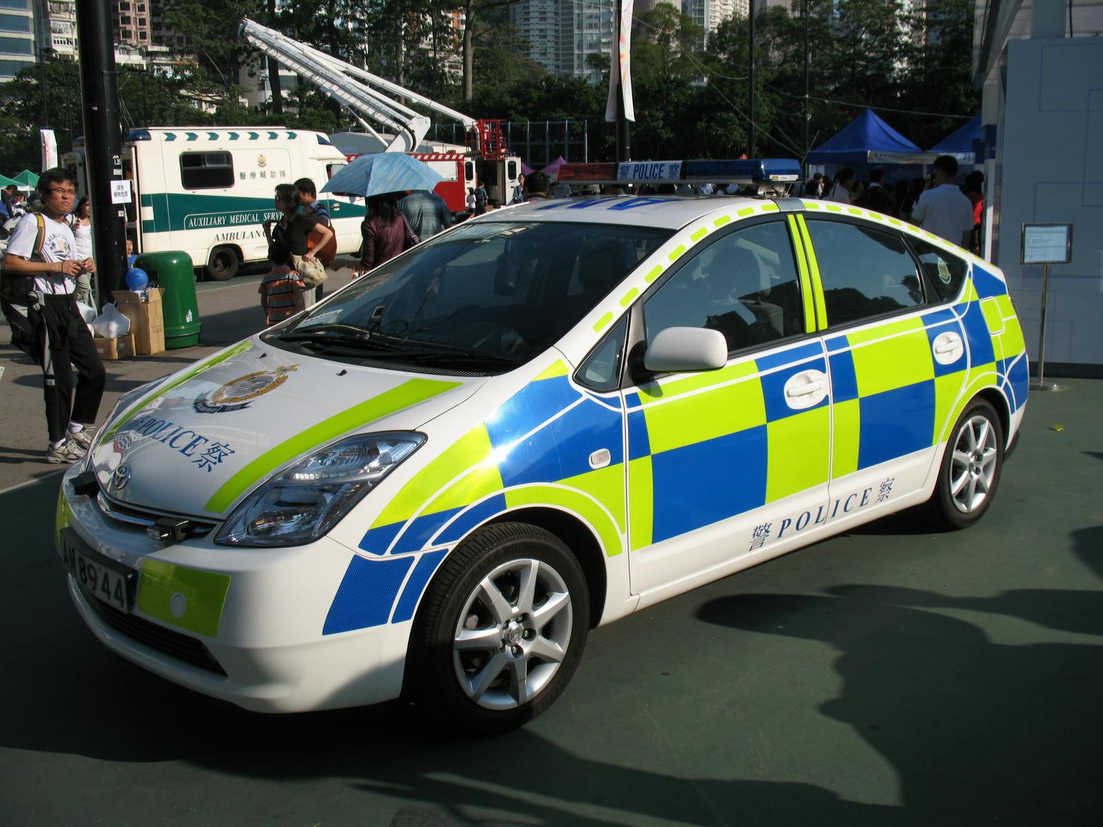 Electric Cop Car