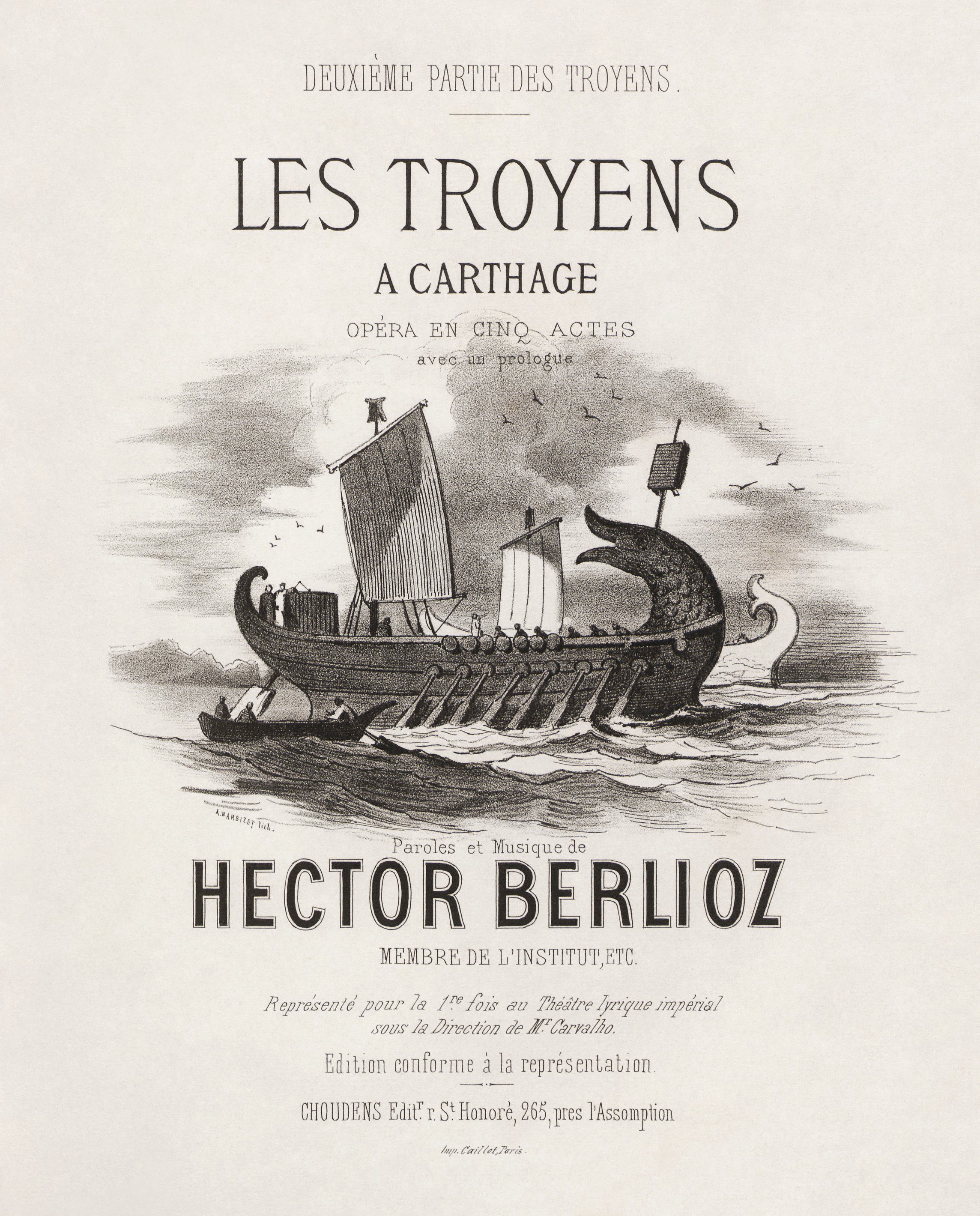 an analysis of hector berlioz s les Hector berlioz (180369) te deum te deum  in his review of the te deum's first performance  les drapeaux s'agitaient, les tambours battaient,.