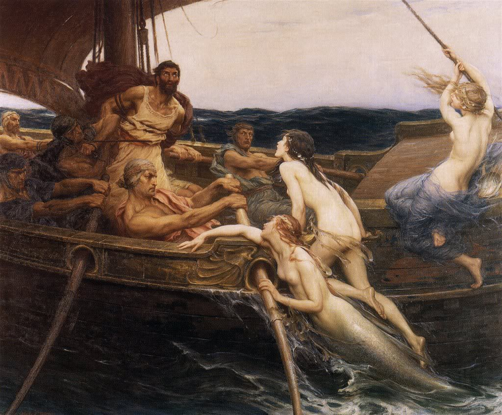 Herbert James Draper, Ulysses and the Sirens