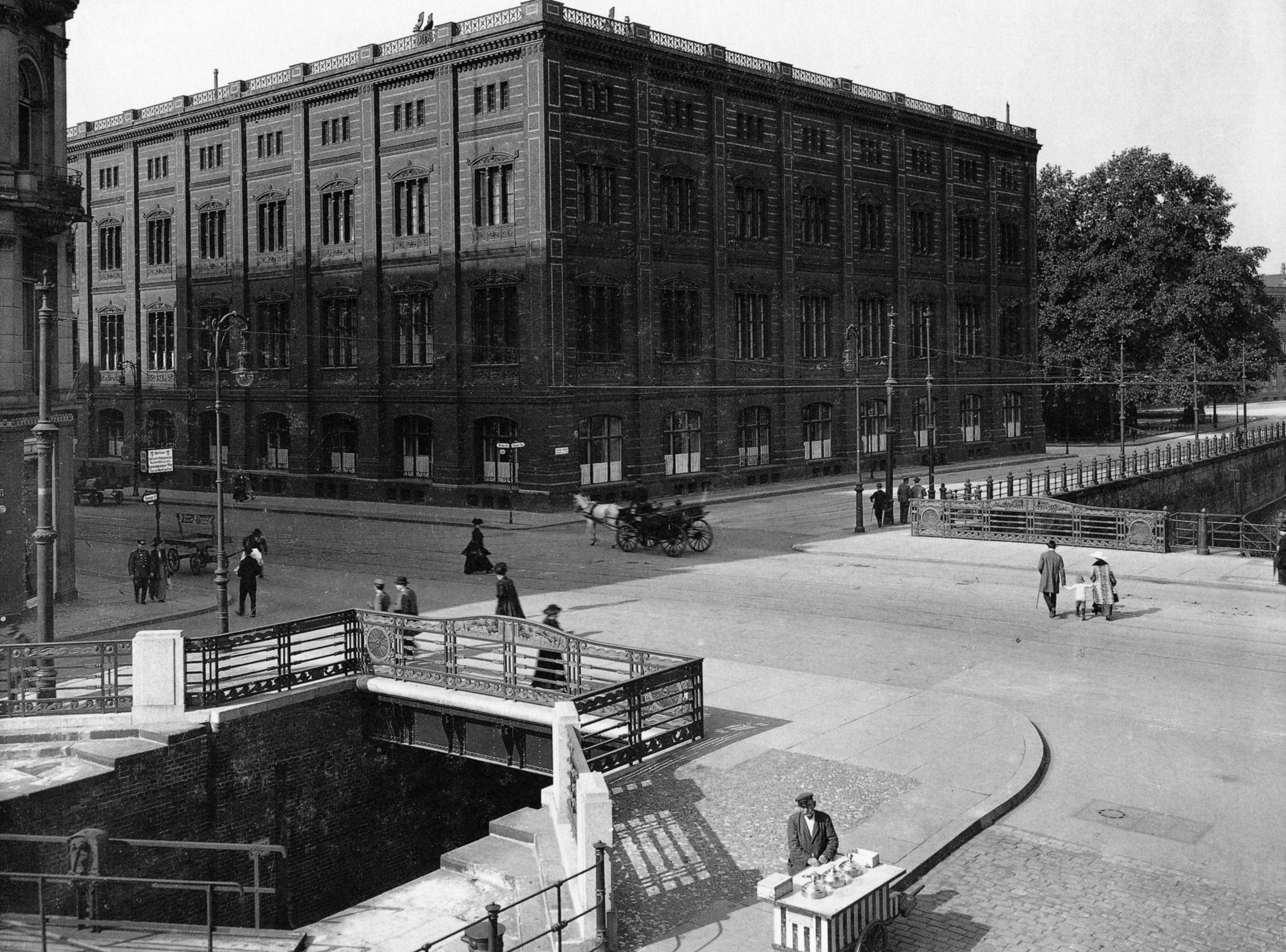 Datei Hermann R Ckwardt Schleusenbr Cke Und Bauakademie