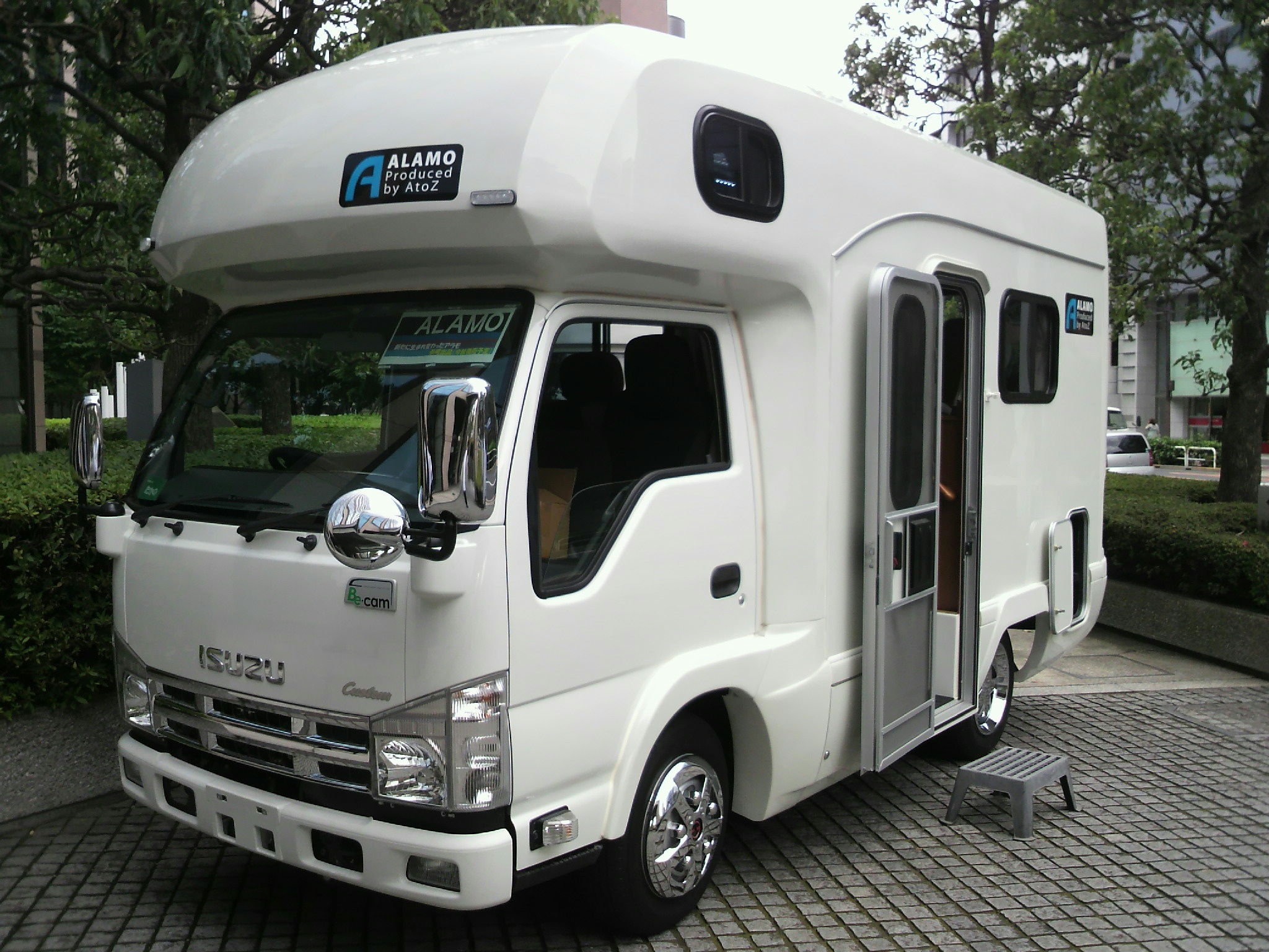 File Isuzu Elf 6th Gen Standard Cab Type Recreational