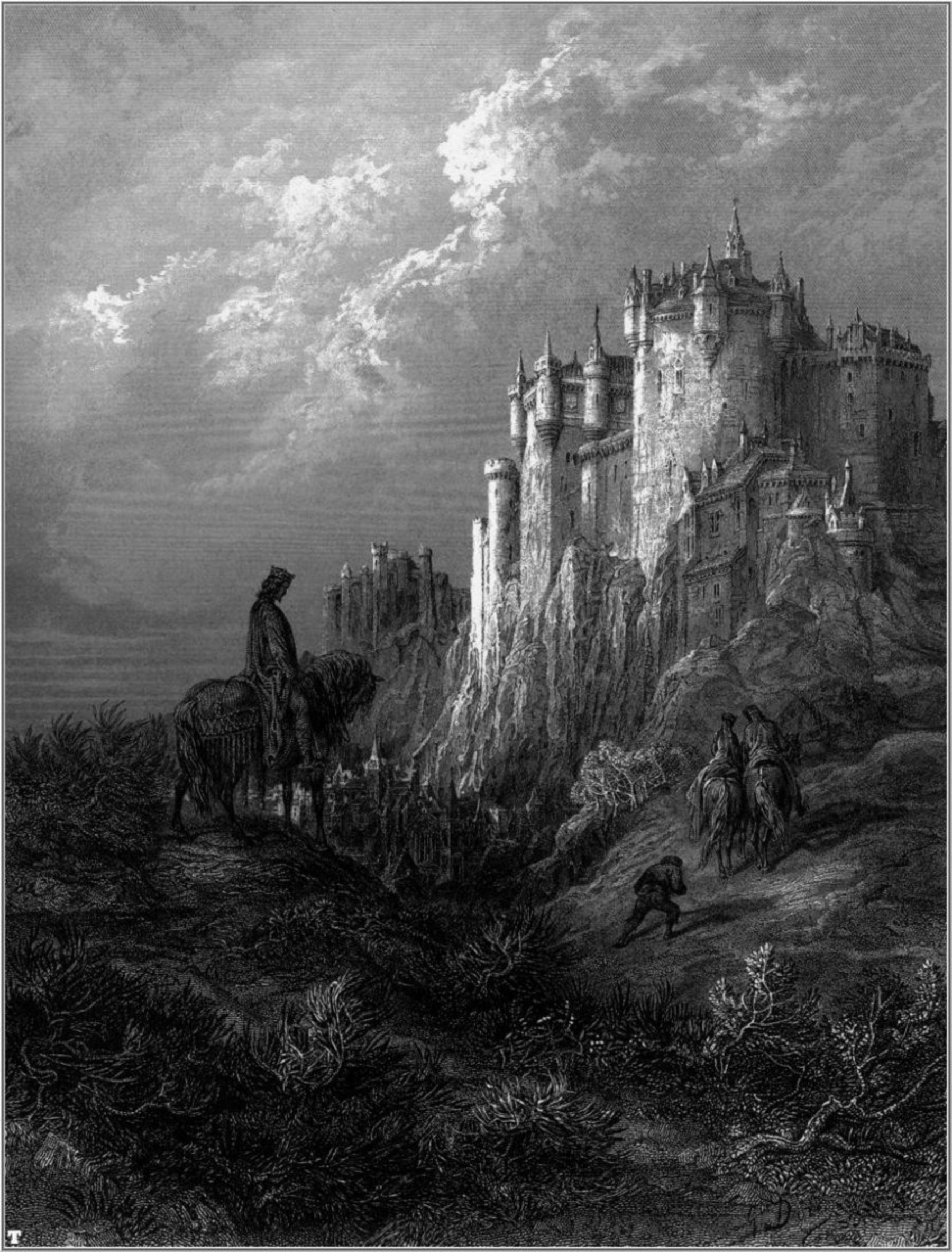 Idylls of the King by Gustave Doré 3