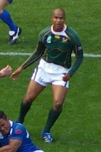 JP Pietersen South African rugby union player