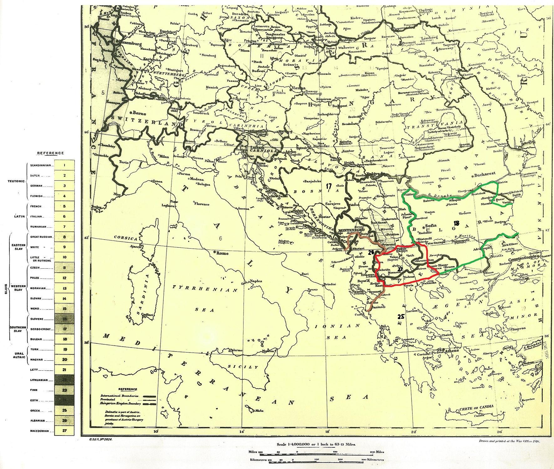 Map Se London.File Karta Mapa Na Koja Se Prikazani Makedoncite Kako Poseben Narod