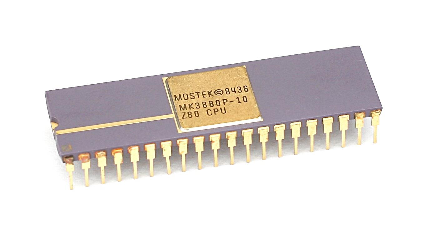 Mostek MK3880P (Zilog Z80).