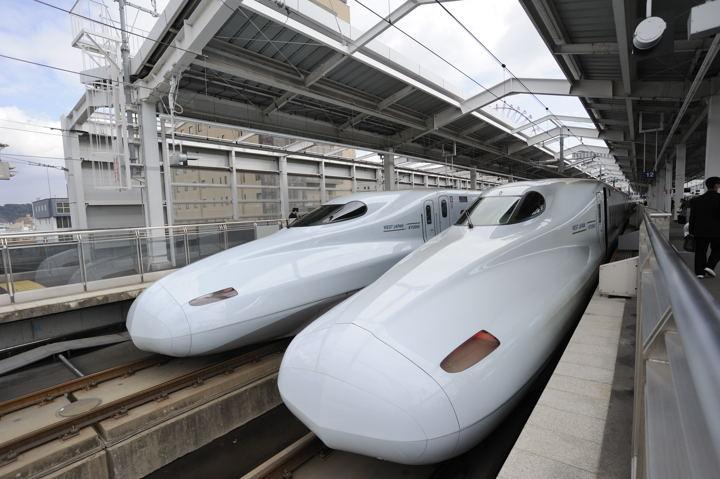 Kagoshima chuo Shinkansen track3