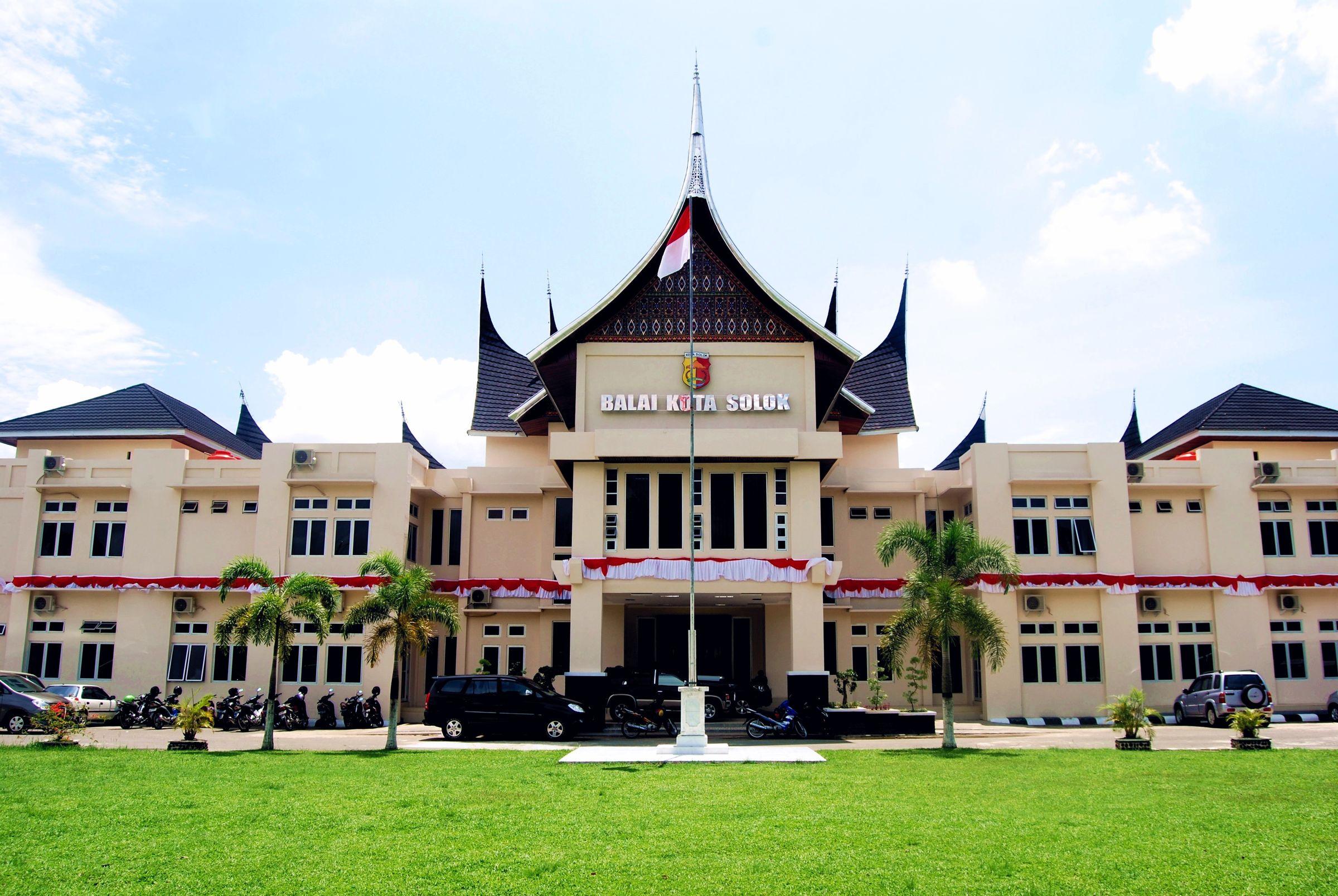 File Kantor Balai Kota Solok Jpg Wikimedia Commons