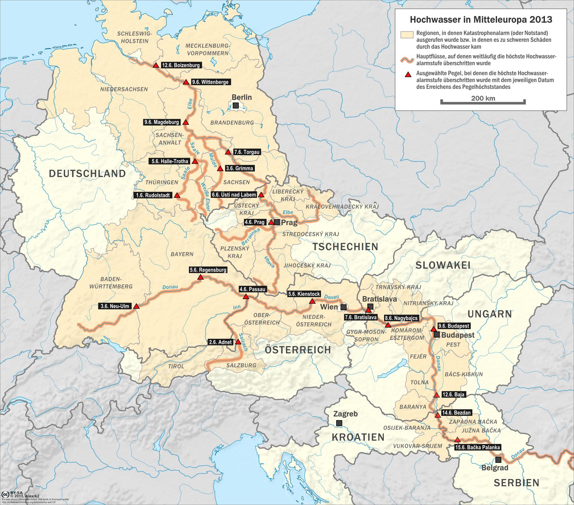 karte mitteleuropa File:Karte Hochwasser in Mitteleuropa 2013.png   Wikimedia Commons