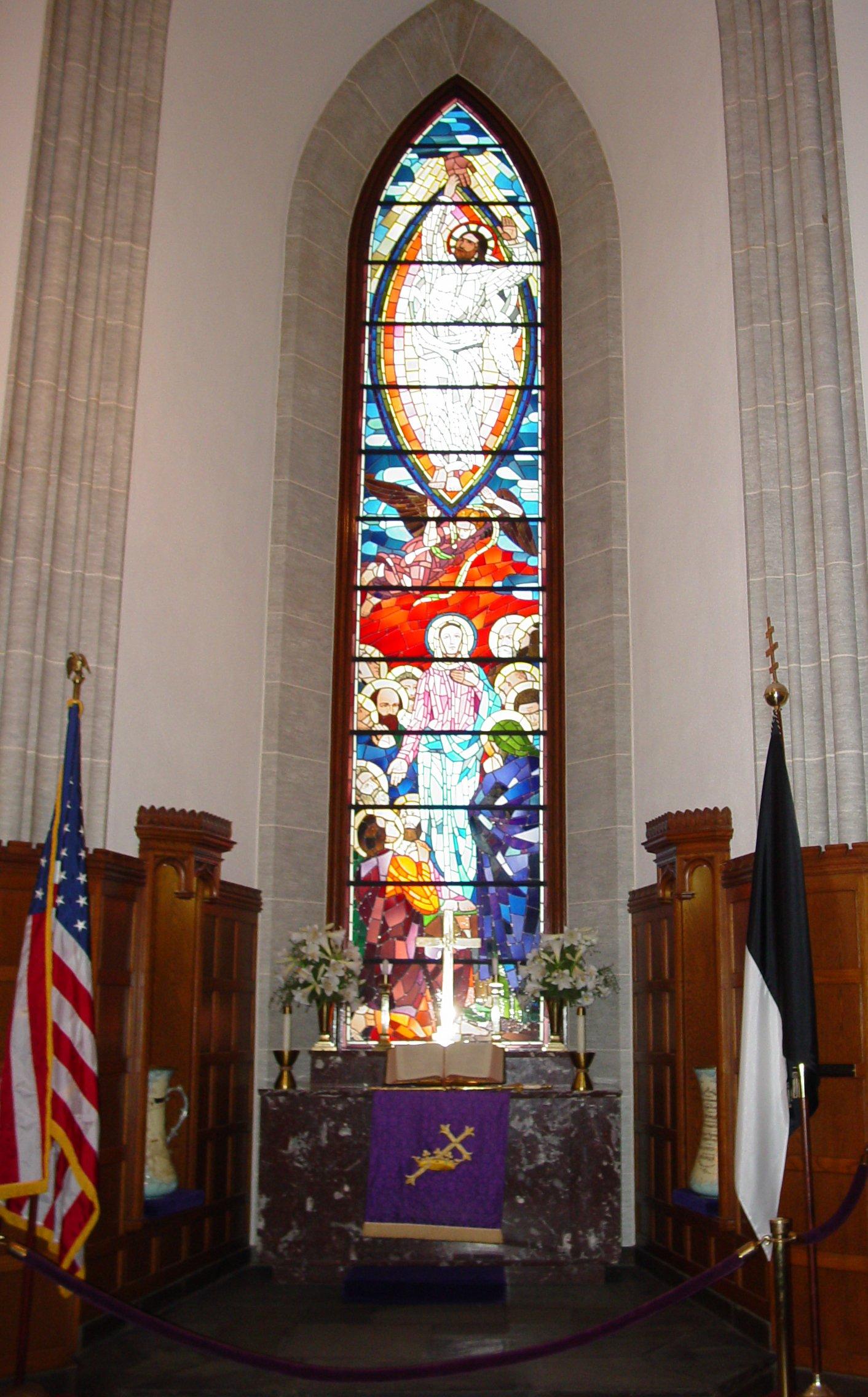 LA VERDAD DEFINITIVA SOBRE EL ORIGEN DE LA MASONERIA Knights_Templar_Room_window