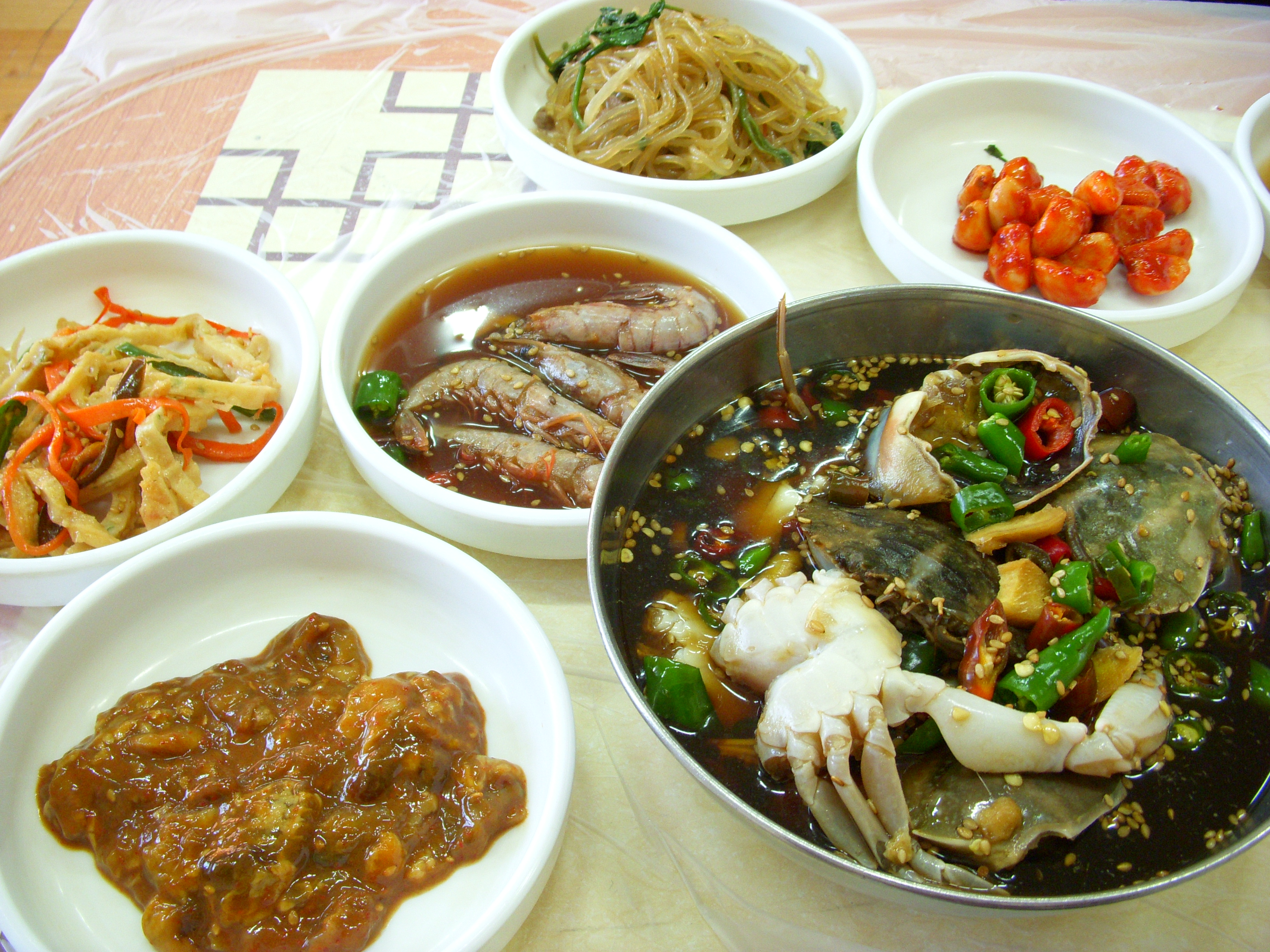 file gejang and banchan