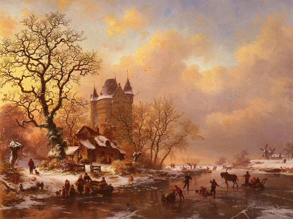 https://upload.wikimedia.org/wikipedia/commons/b/b7/Kruseman_Frederick_Marianus_Skating_In_The_Midst_Of_Winter.jpg