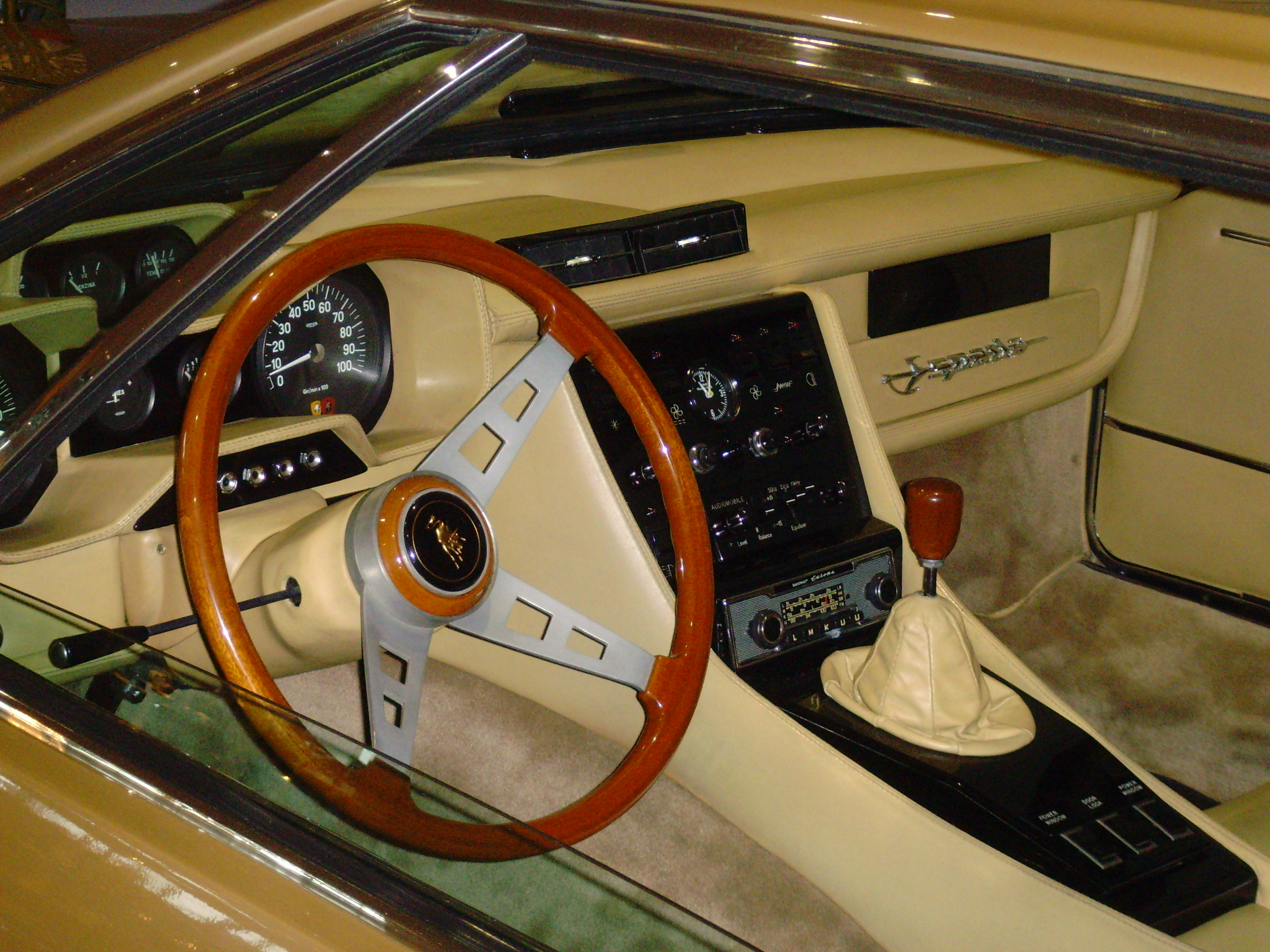 Https Commons Wikimedia Org Wiki File Lamborghini Espada Interior Jpg