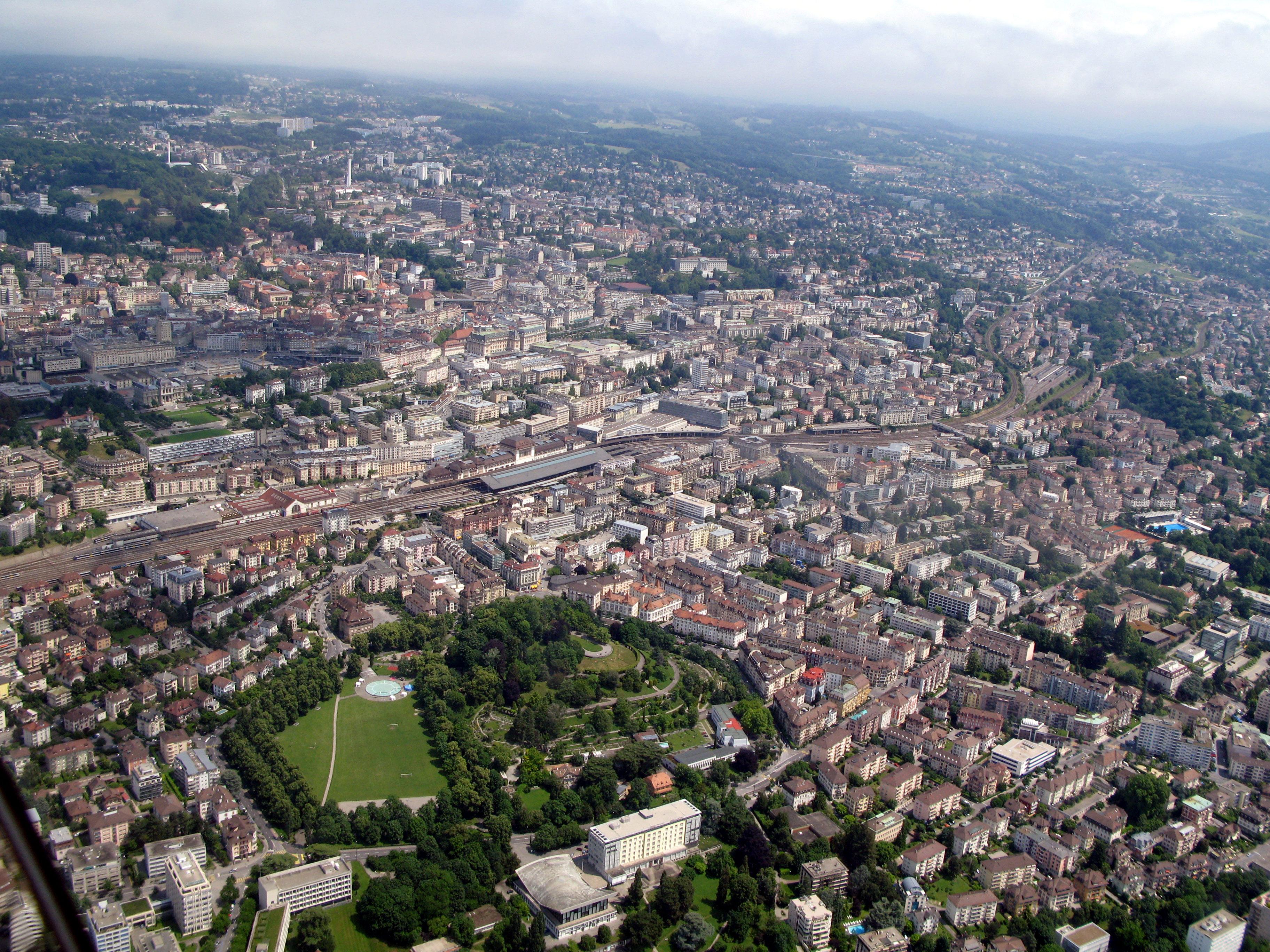Aperçu de Lausanne - (c) Rama