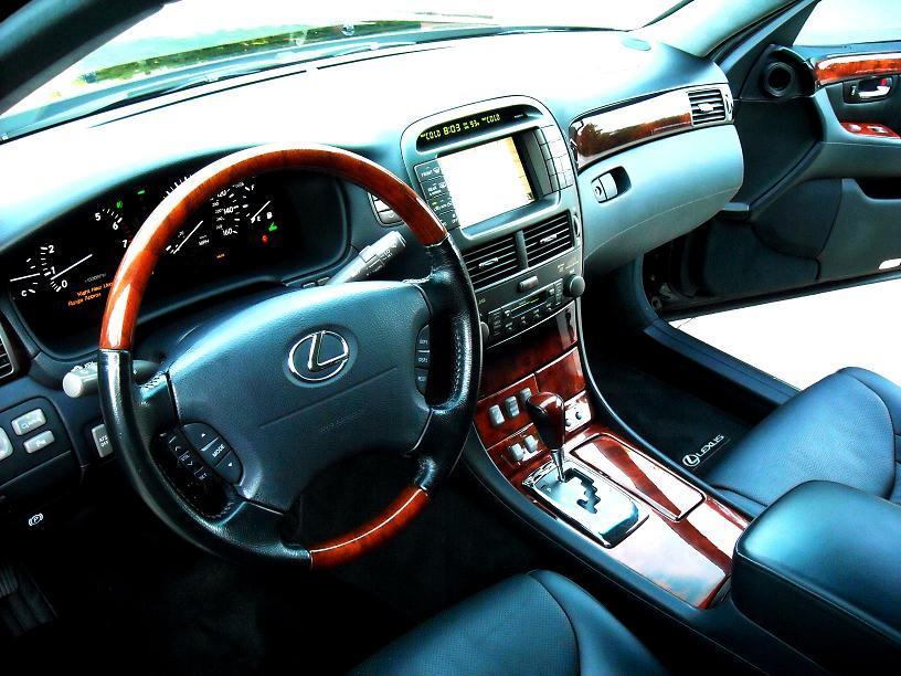 File Lexus Ls 430 Ultra Luxury Interior Jpg Wikimedia