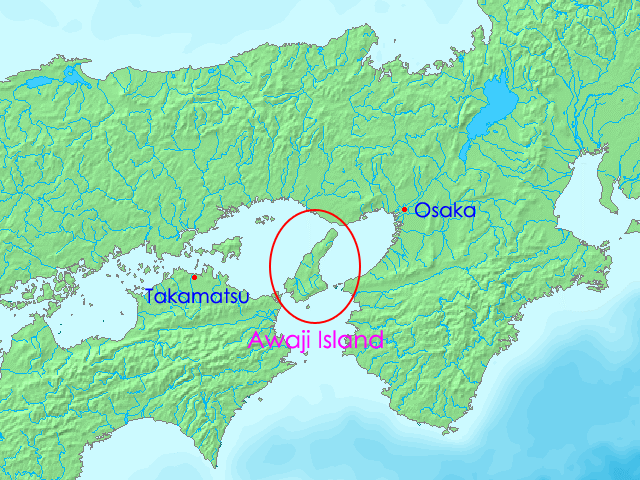 Awaji island wikipedia for Location b b france