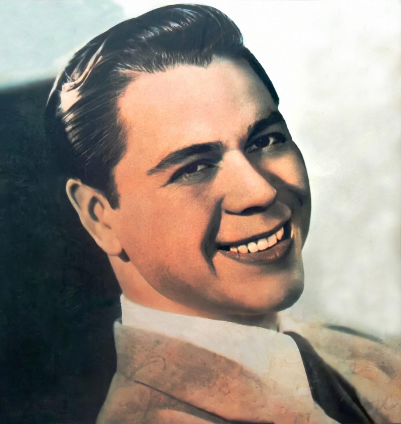 Lucho Gatica en 1954.