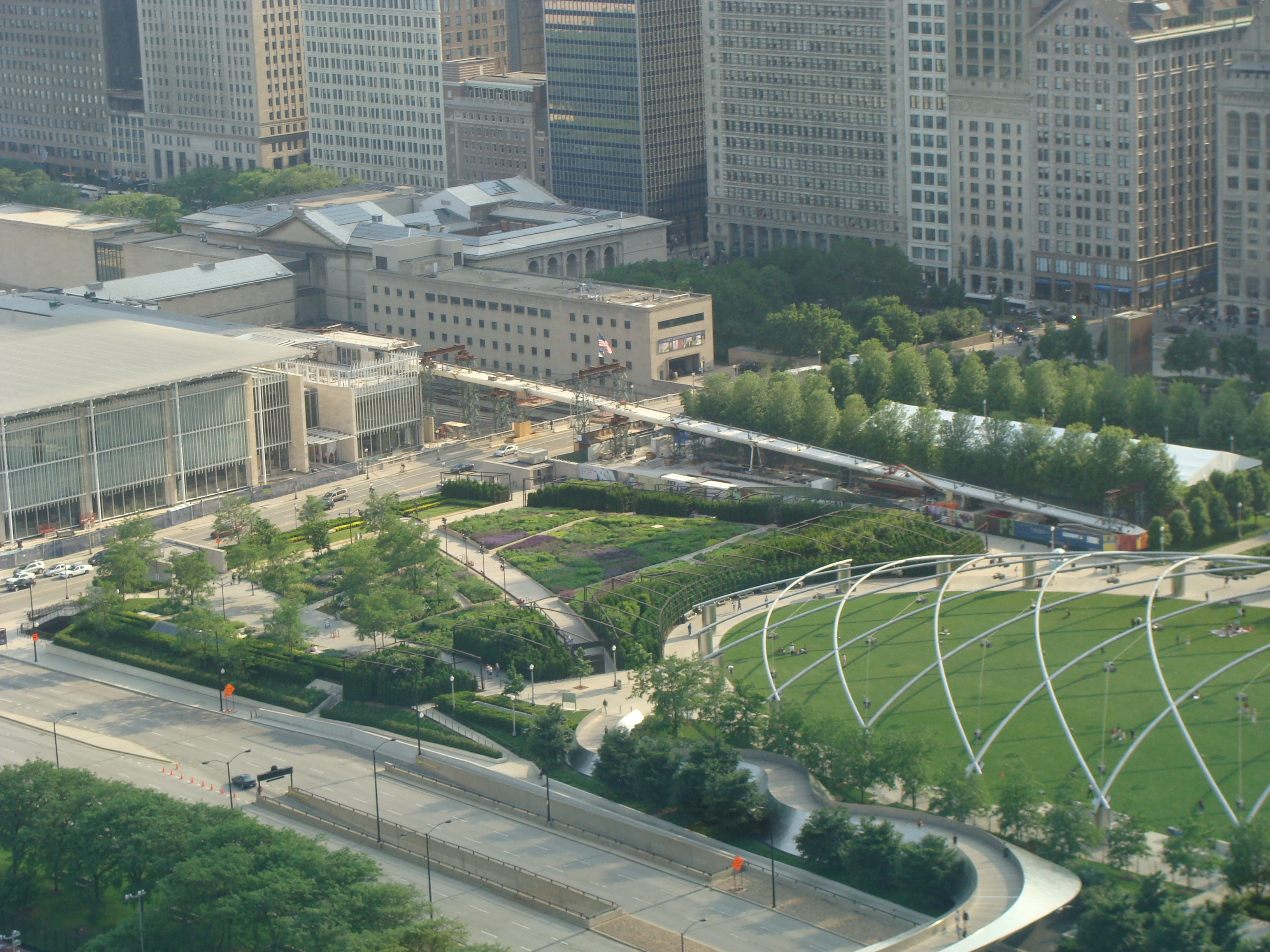 When Millennium Park first opened in 2004