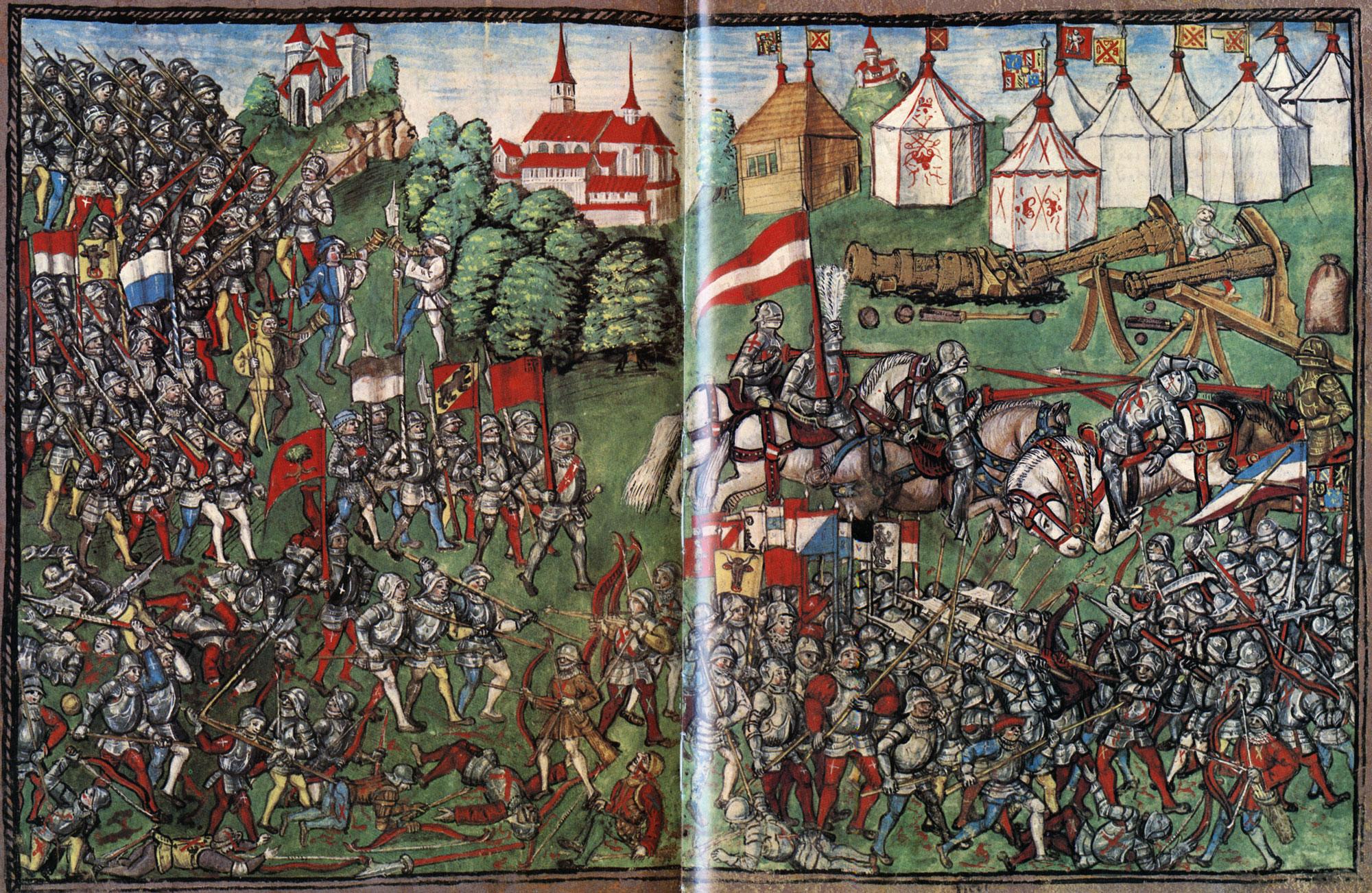 Depiction of Batalla de Grandson