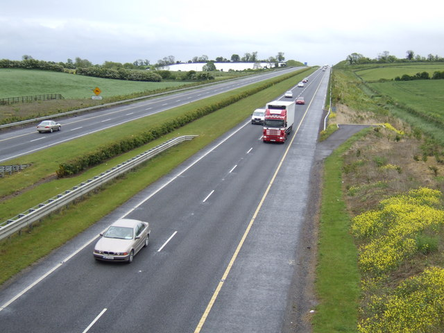 File:M1 new extension south of Drogheda - geograph.org.uk - 451538.jpg