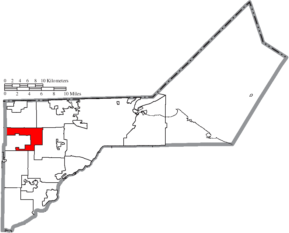 Lucas Ohio Map.File Map Of Lucas County Ohio Highlighting Spencer Township Png