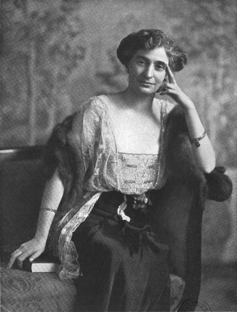 Marie Van Vorst, from a 1915 publication.