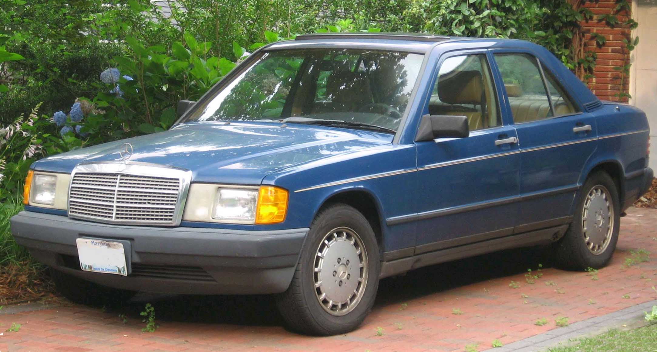 File Mercedes Benz W201 Jpg Wikimedia Commons