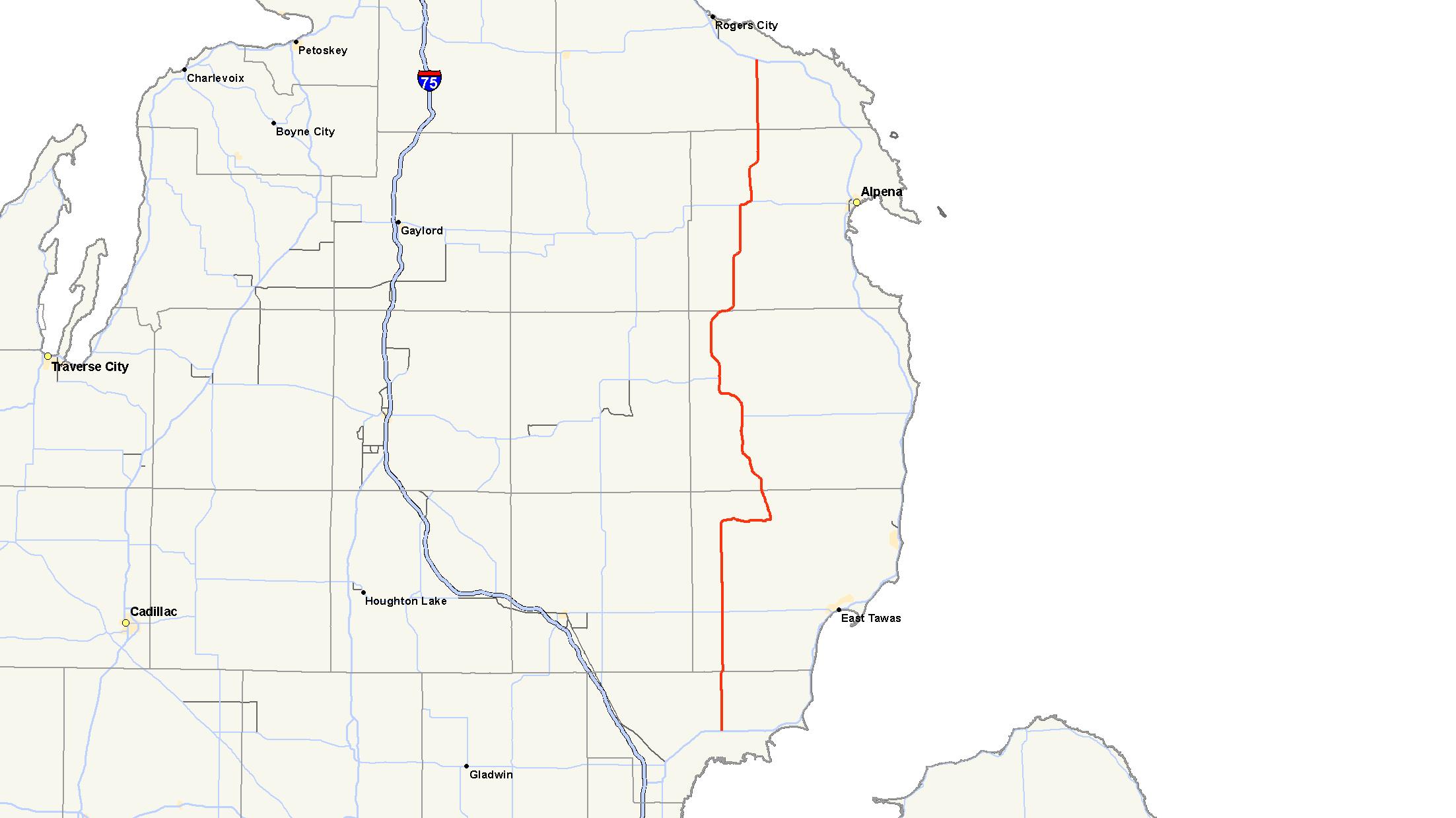M 65 Michigan Highway Wikipedia