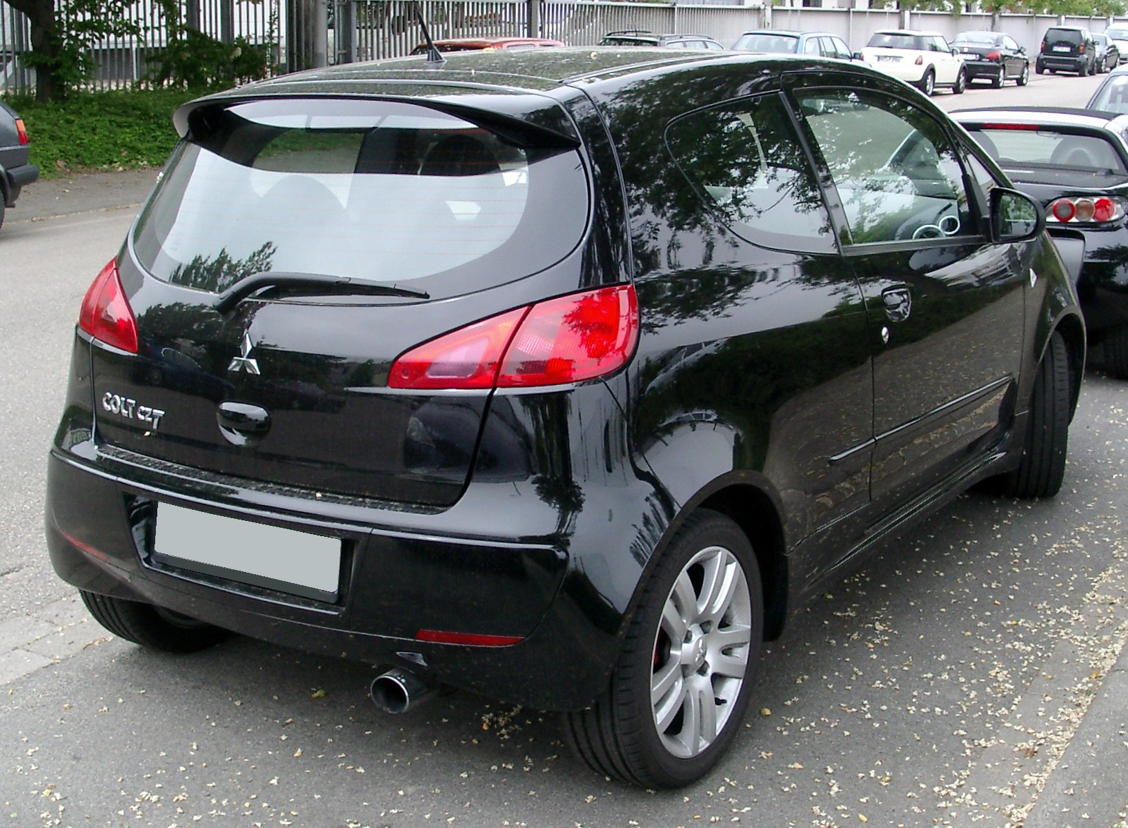 File Mitsubishi Colt Czt Rear 20080527 Jpg Wikimedia Commons