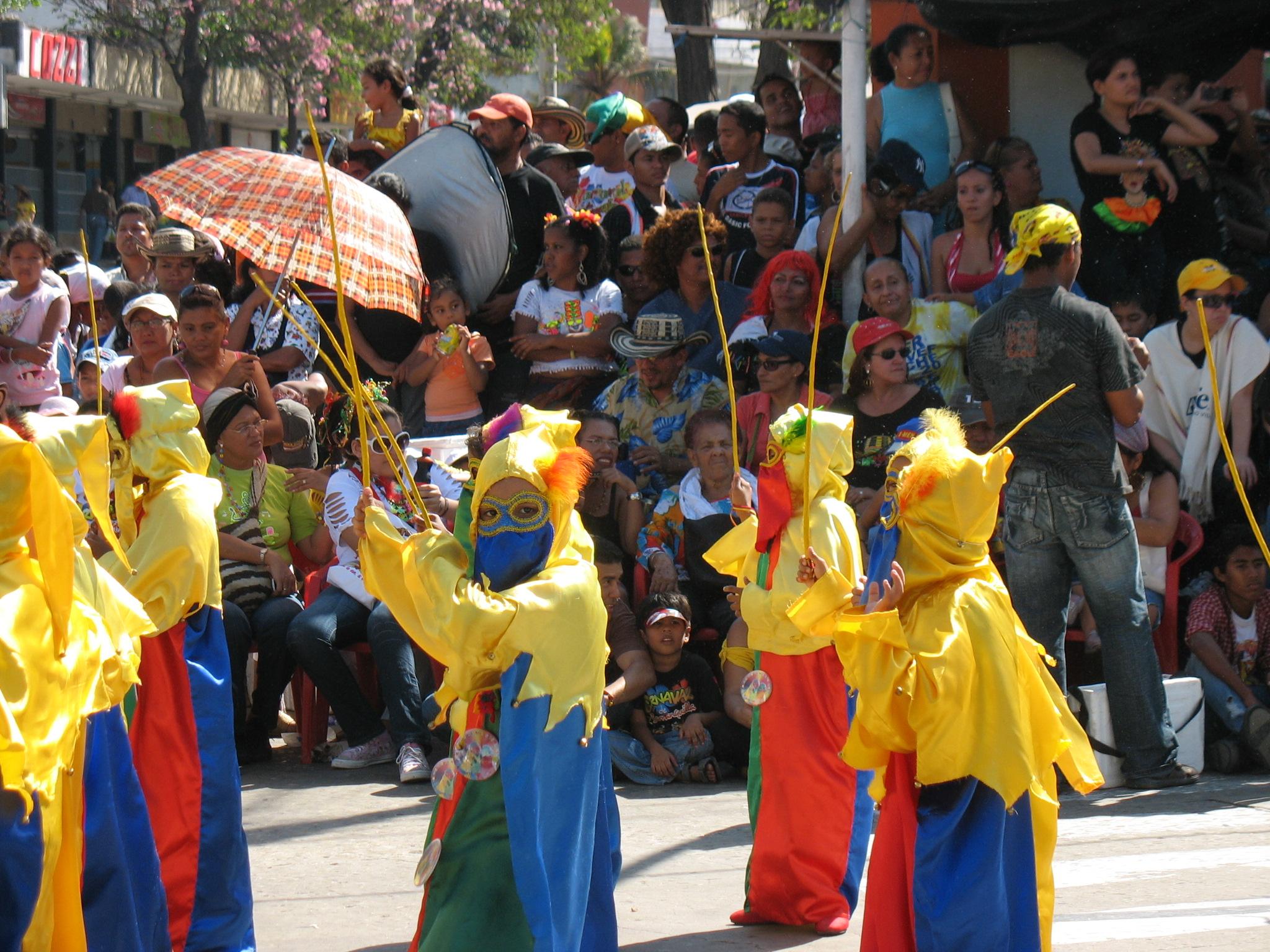 Description Monocucos Carnaval De Barranquilla