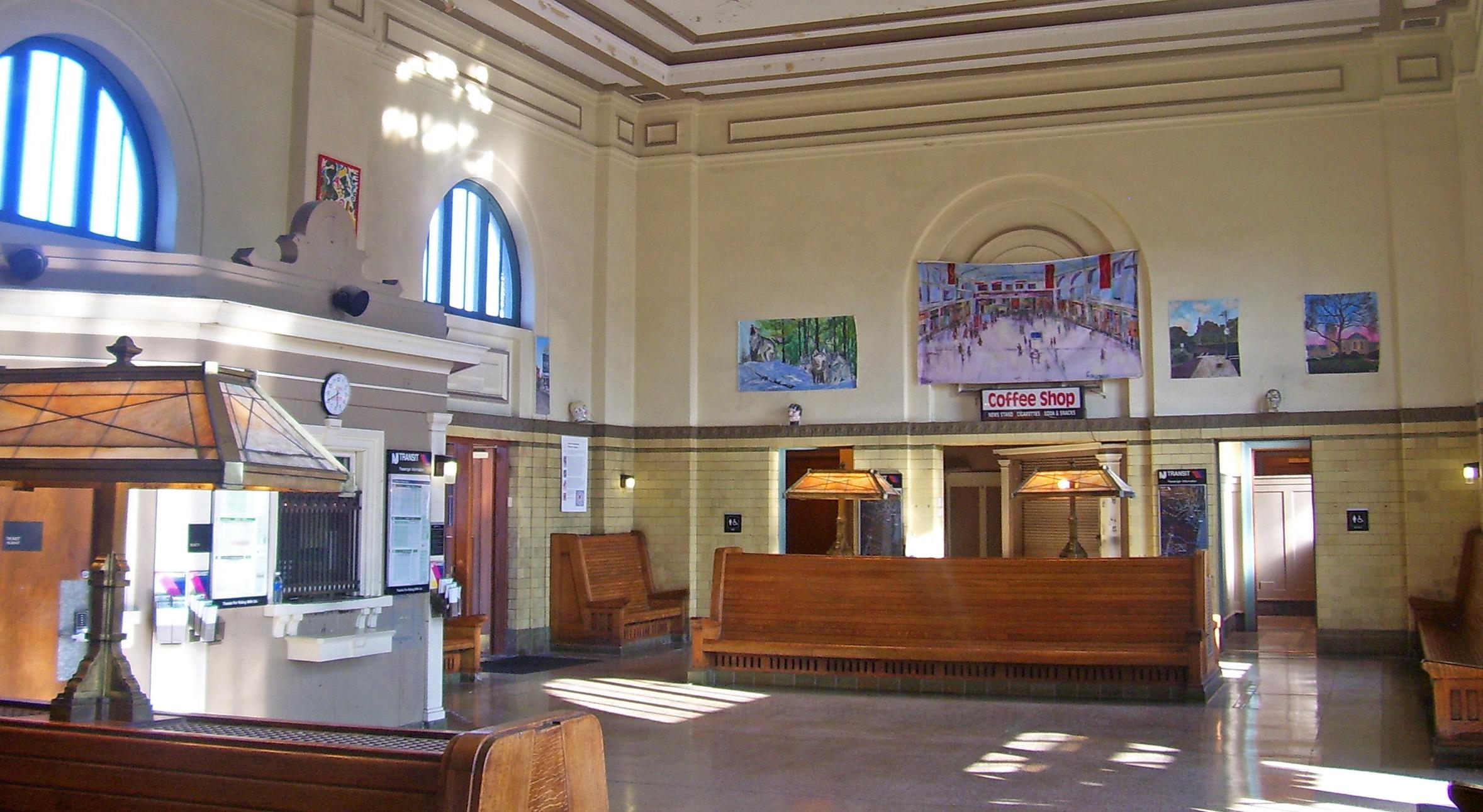 FileMorristown NJ Train Station Interior