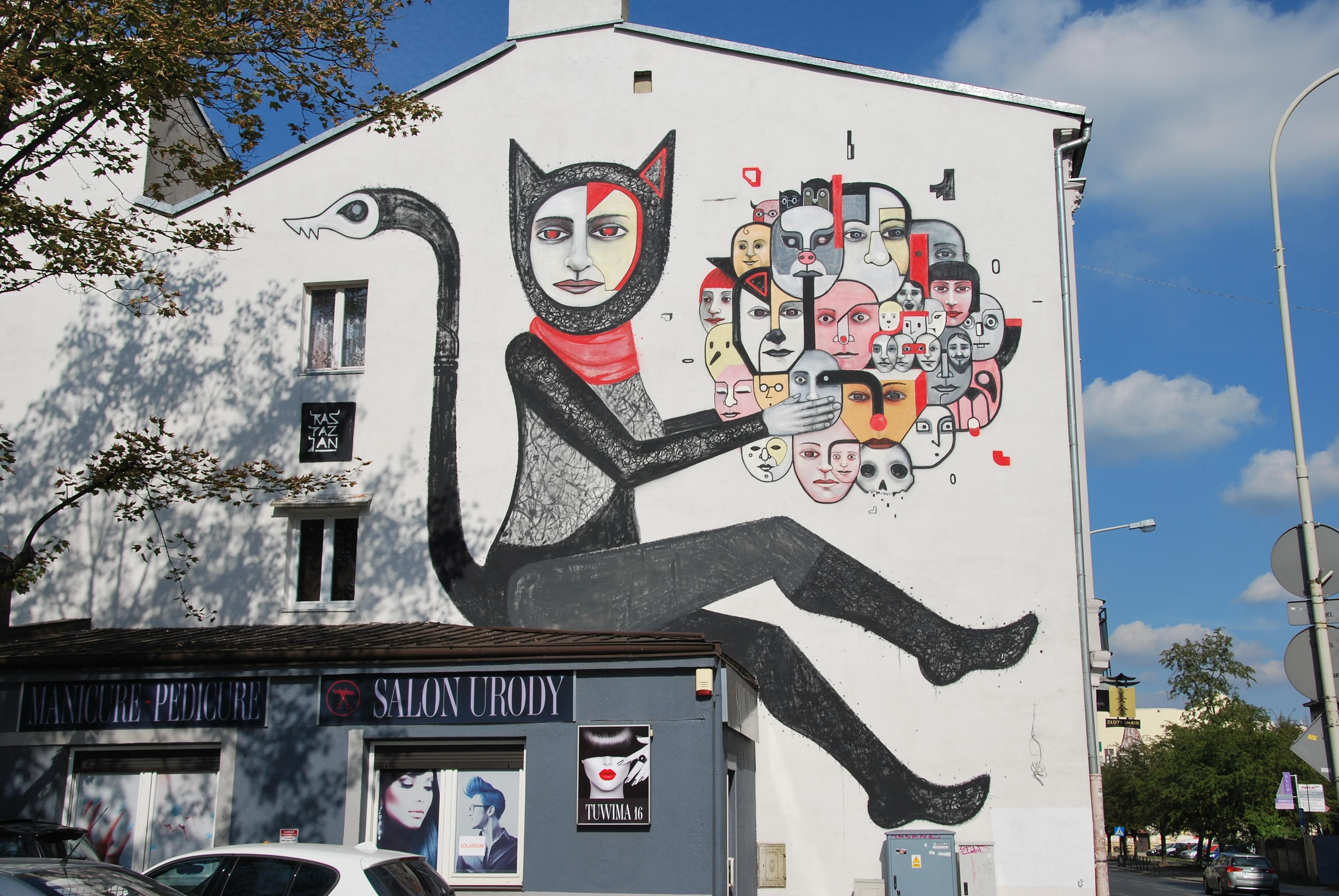 File Mural Of Raspazjan Lodz Sienkiewicza Tuwima Streets Jpg