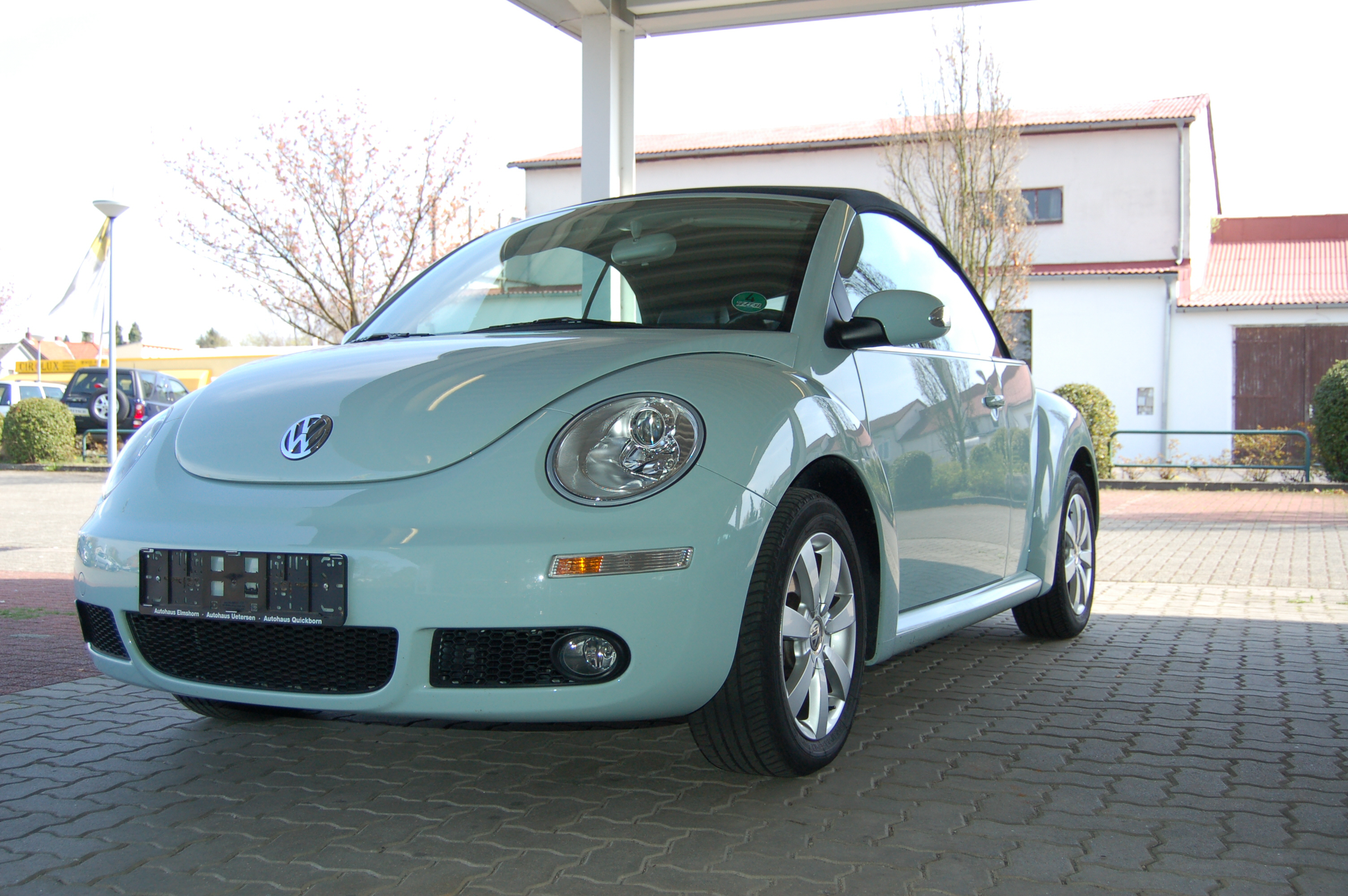 File New Beetle 2 0 Cabrio 2006 Jpg Wikimedia Commons