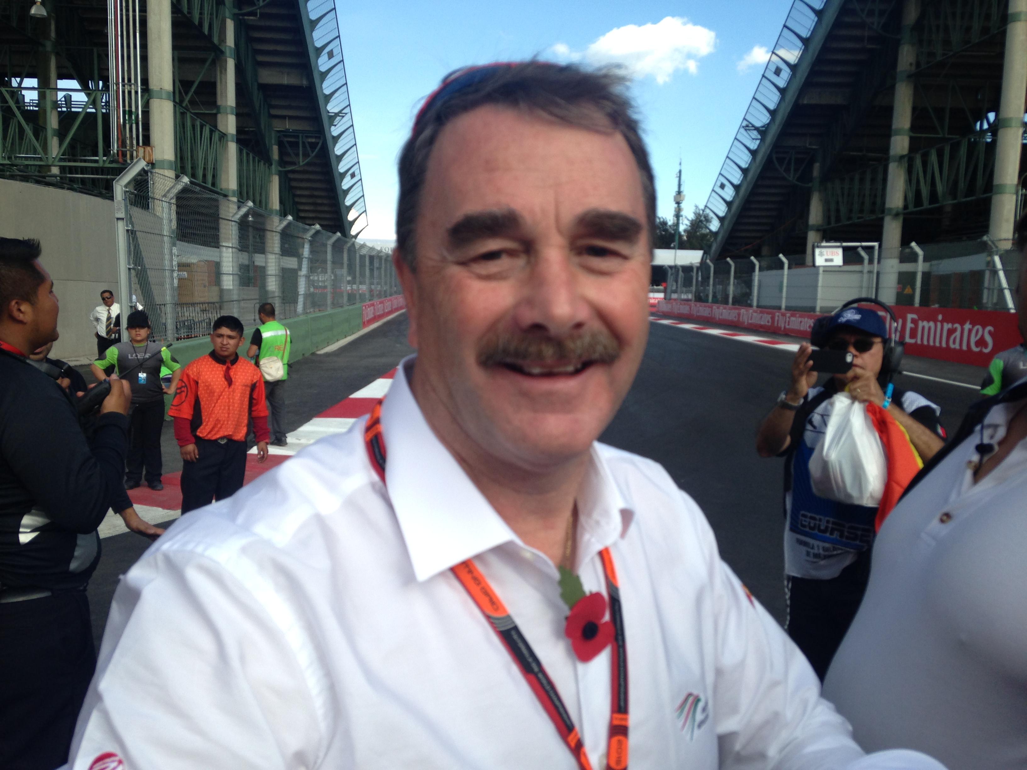 Photo of Nigel Mansell