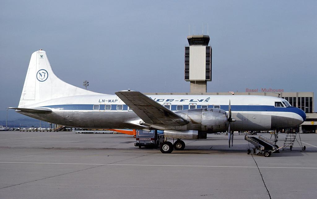 Convair CV440 Metropolitan (Finnair) Convair 240/580