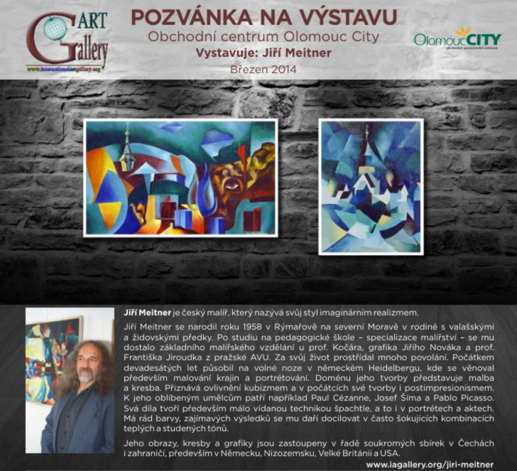 pozvánka Olomouc City
