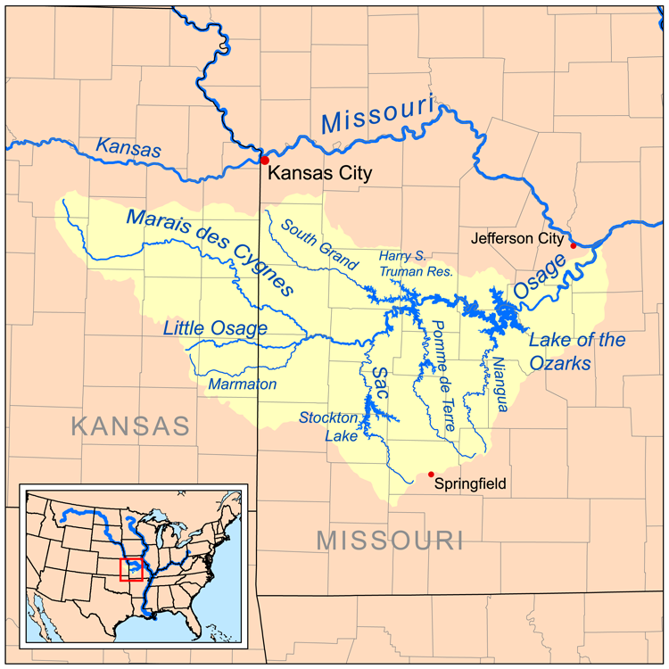 Osage River  Wikipedia