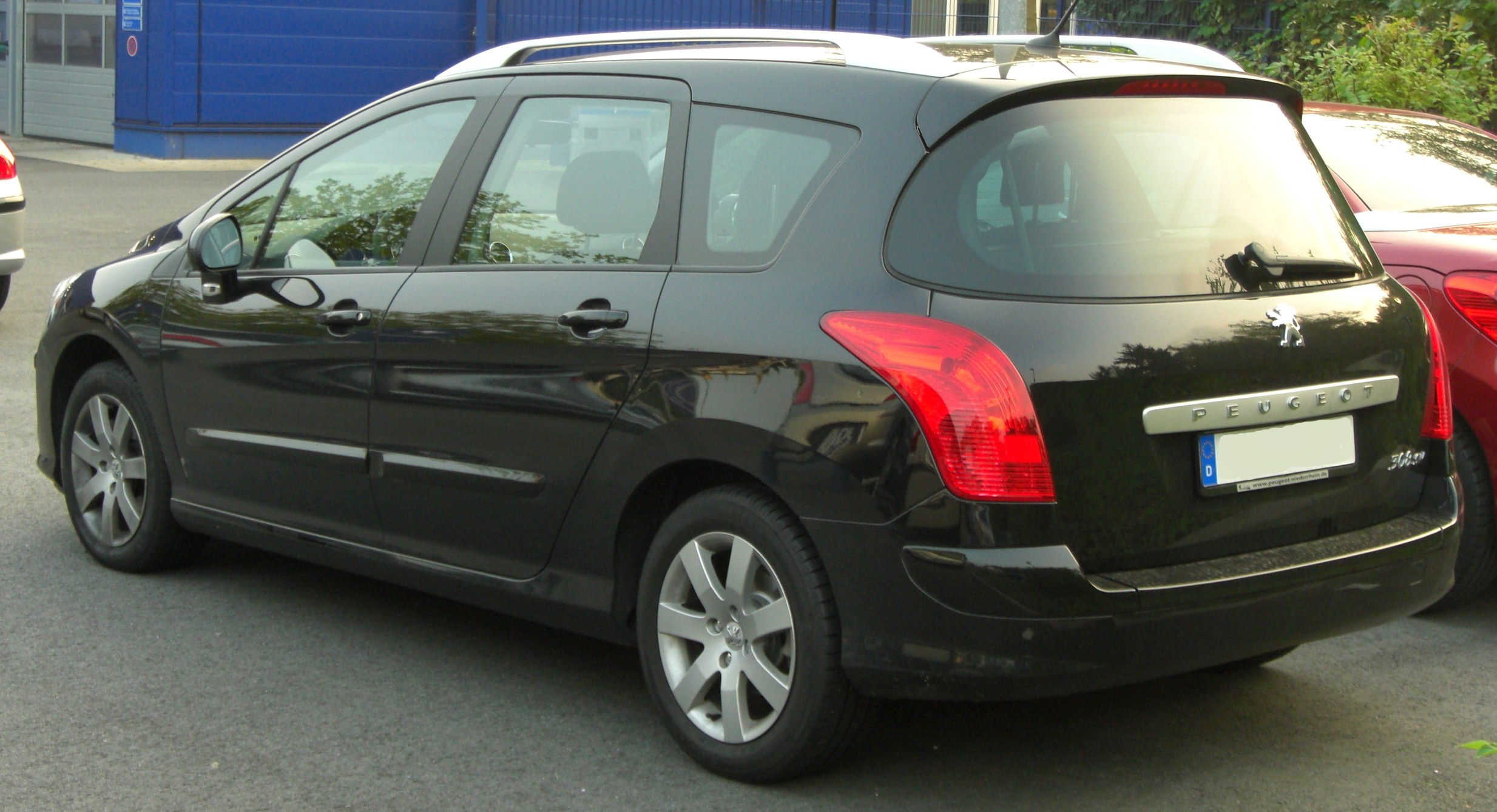 File Peugeot 308 Sw Rear 1 Jpg Wikimedia Commons