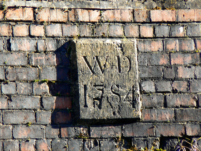 Plaque, Whitehall Bridge, near Frampton Mansell - geograph.org.uk - 1133780