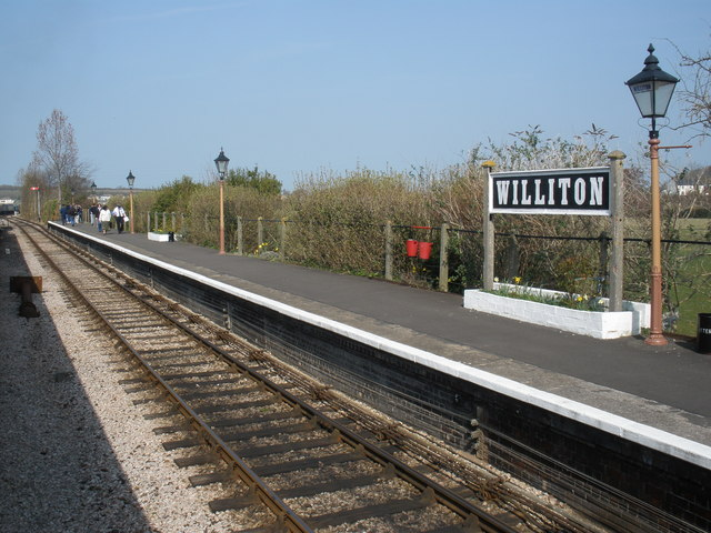 File:Platform, at Williton railway station - geograph.org.uk - 1214679.jpg